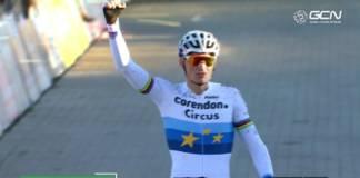 Mathieu van der Poel large vainqueur