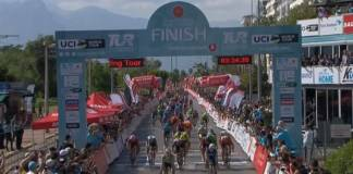Sam Bennett s'impose sur la 2ème étape du Tour de Turquie.