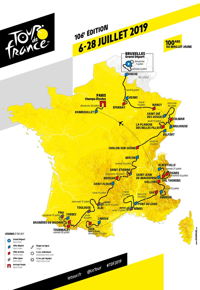 grand départ tour de france 2019