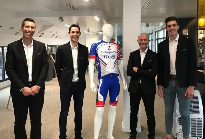 Groupama-FDJ lance son équipe Continentale pour la saison 2019.