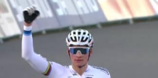 Mathieu van der Poel vainqueur en coupe du monde