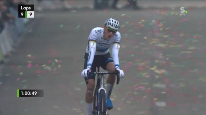 Mathieu Van der Poel signe un nouveau succès