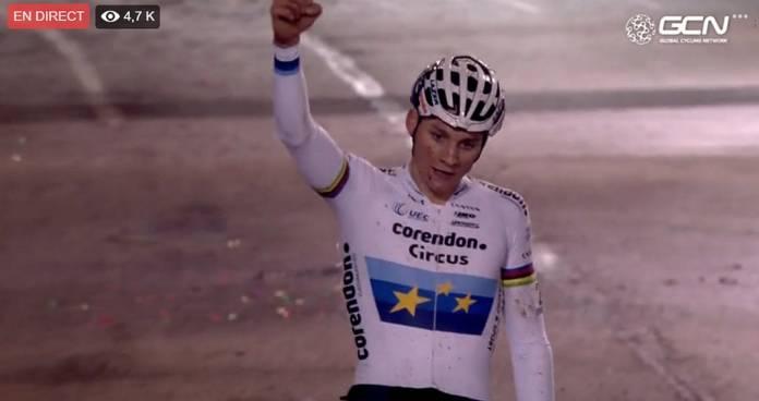 Mathieu Van der Poel encore vainqueur
