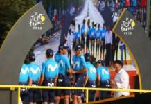 Movistar poursuit dans le cyclisme