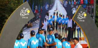 Movistar poursuit dans le cyclisme