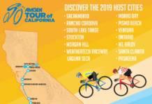 Tour de Californie 2019 le parcours