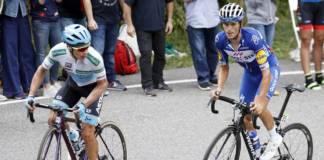 Vuelta avec un maillot blanc pour les jeunes