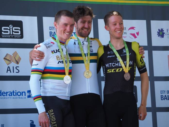 Luke Durbridge champion national du chrono