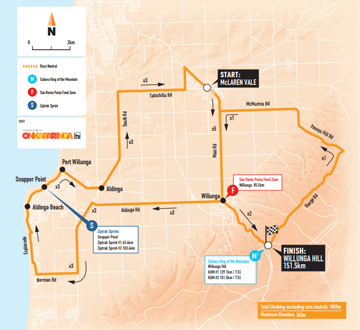 tour down under 2019 etape 6
