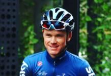 Chris Froome engagés sur le Tour de Yorkshire 2019