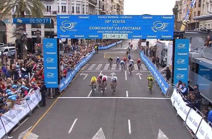 Tour de la Communauté de Valence 2019 vidéos étape 5