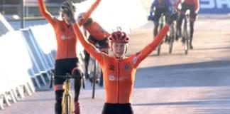 Inge Van der Heijden championne espoirs