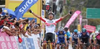 Juan Sebastian Molano récompensé par une victoire