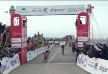Tadej Pogacar leader du Tour d'Algarve