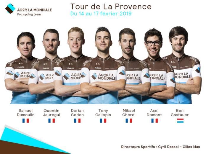 Tony Gallopin dans les favoris du Tour de la Provence
