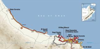 Tour d'Oman 2019 parcours