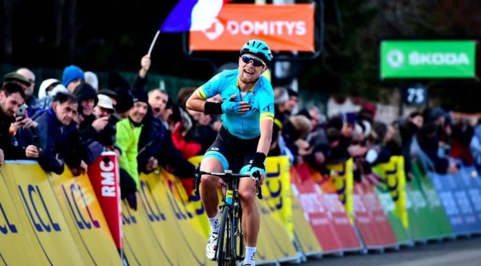 Magnus Cort Nielsen participe à la moisson d'Astana.