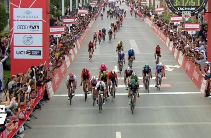 Sam Bennett termine le mieux l'UAE Tour