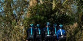 L'équipe britannique a retrouvé un sponsor et l'annonce devrait être faite avant le Giro. Photo : Team Sky