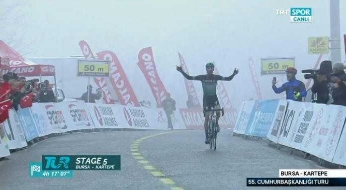 Felix Grosschartner grand vainqueur du jour