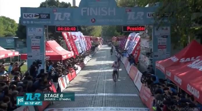 Caleb Ewan gagne la 6e et dernière étape