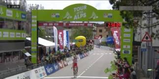 Fausto Masnada remporte 3e étape Tour des Alpes