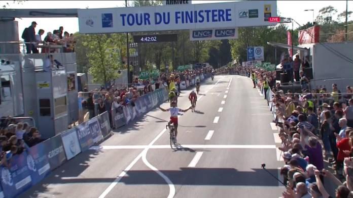 Julien Simon remporte une manche de Coupe de France