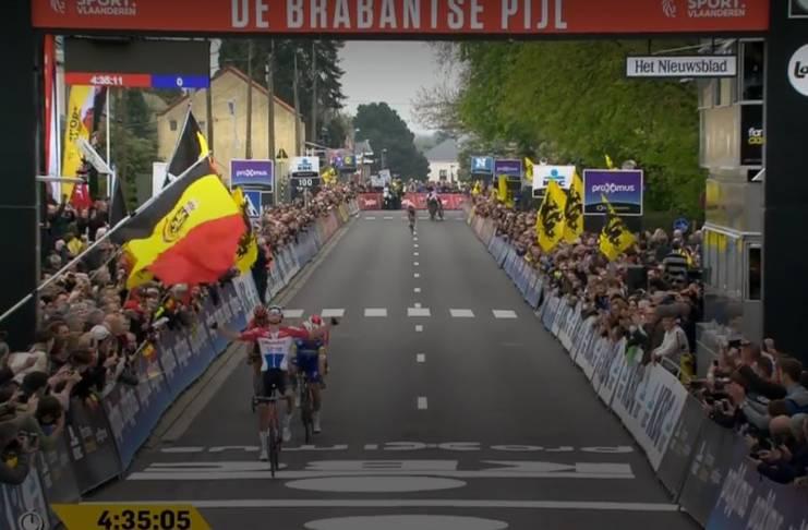 Mathieu van der Poel gagne Flèche Brabançonne