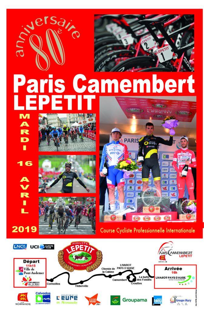 Paris-Camembert 2019 parcours et favoris