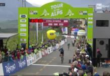 Pavel Svikov grand gagnant de la journée au Tour des Alpes