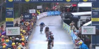 Alexandre Geniez leader provisoire du Tour de l'Ain