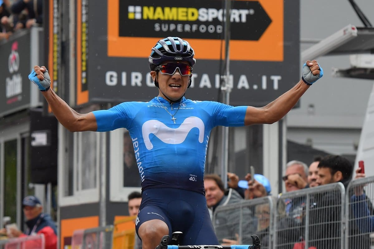 Carapaz, vainqueur du Giro, ne participera pas à la Vuelta !