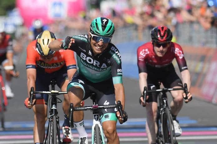 Cesare Benedetti vainqueur de la 12e étape
