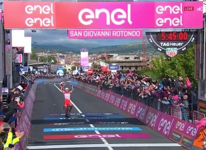Classement étape 6 Giro 2019