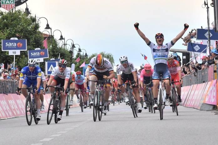 Damiano Cima, une échappée victorieuse