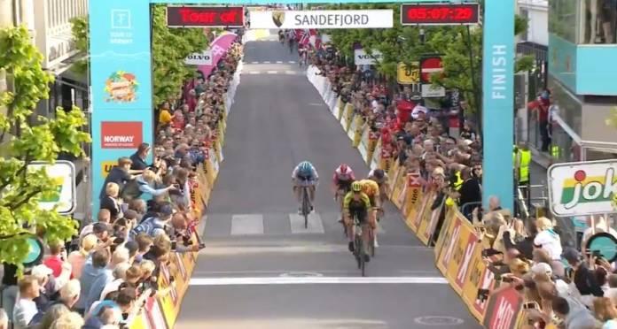 Edoardo Affini s'illustre sur le Tour de Norvège