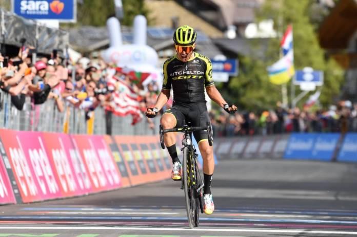 Esteban Chaves termine fort ce Giro 2019