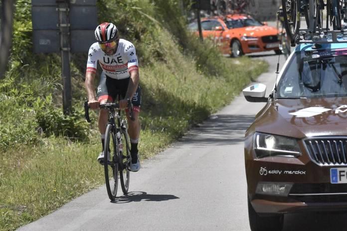 Fernando Gaviria n'ira pas au bout de ce Giro 2019