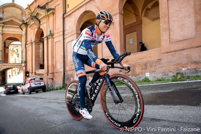Hiroki Nishimura (Nippo-Vini Fantini) hors délai sur le Tour d'Italie