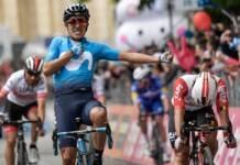 Richard Carapaz remporte la 4e étape du Giro 2019