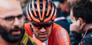 Tom Dumoulin (Sunweb) poursuit le Tour d'Italie