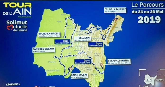 Tour de l'Ain 2019 parcours et favoris