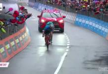 Giulio Ciccone vainqueur de l'étape 16