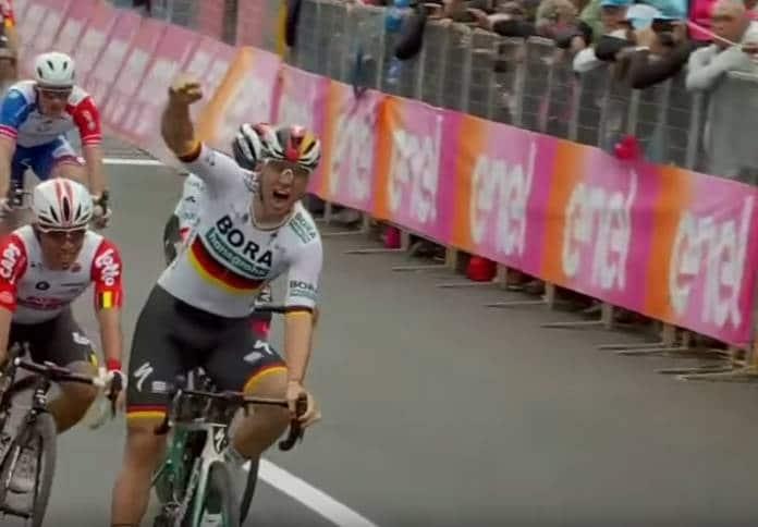 Vidéos Tour d'Italie 2019 étape 2 succès de Pascal Ackermann