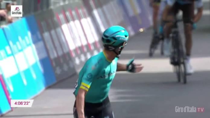 Pello Bilbao remporte un belle victoire au sommet de la septième étape du Tour d'Italie 2019.