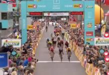 Kristoffer Halvorsen vainqueur dans son tour national