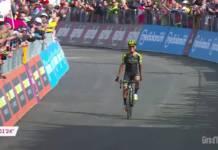 Tour d'Italie 2019 vidéos étape 19