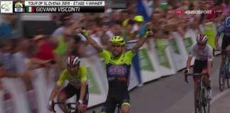 Giovanni Visconti vainqueur de la 4e étape en Slovénie