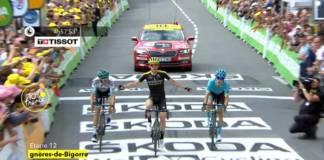 Simon Yates vainqueur au sprint