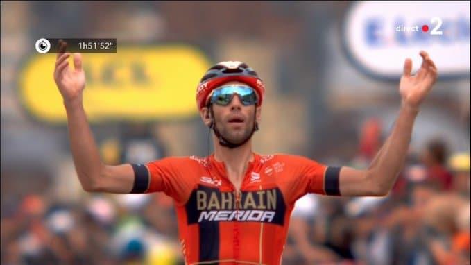 Vincenzo Nibali s'adjuge la dernière étape de montagne